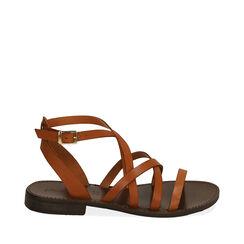 Sandales en cuir de vachette, Primadonna, 15D620006VACUOI036, 001a