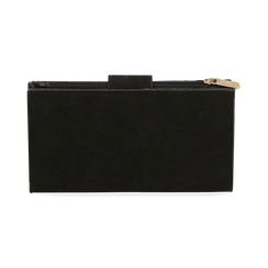 Portafogli nero in microfibra , IDEE REGALO, 165122158MFNEROUNI, 004 preview