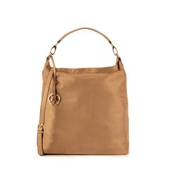 Maxi-bag beige in microfibra, Primadonna, 15D208513MFBEIGUNI, 001a