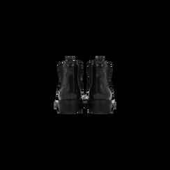 Chelsea Boots neri vernice, lavorazione Duilio, Scarpe, 120618206VENERO040, 003 preview