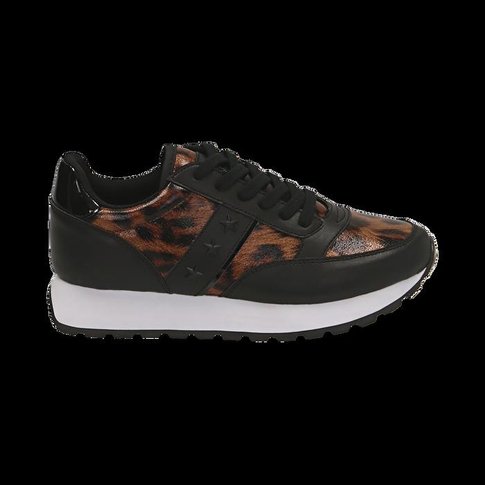 Sneakers léopard , Primadonna, 162619079EPLEMA035