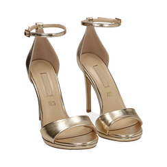 WOMEN SHOES SANDAL LAMINATED OROG, PROMOTIONS, 152133410LMOROG040, 002 preview