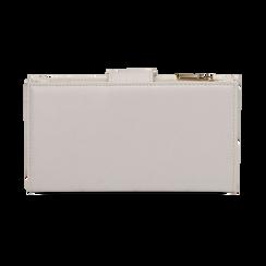 Portafogli bianco, Borse, 155122158EPBIANUNI, 004 preview