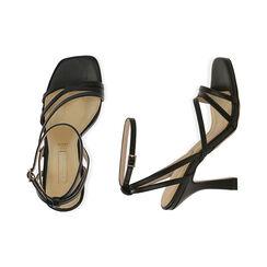 Sandales noires, talon de 9,5 cm, Primadonna, 172183653EPNERO036, 003 preview