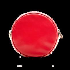 Borsa a tracolla rossa in ecopelle, Borse, 122323008EPROSSUNI, 002 preview
