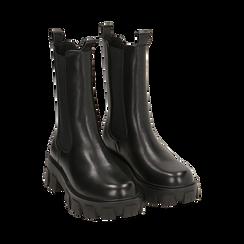 Botines Chelsea negro, platform 6 cm, Primadonna, 160622483EPNERO038, 002 preview
