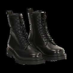 Amphibiens noirs en cuir, Primadonna, 167729408PENERO036, 002a