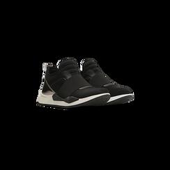 Sneakers nere in lycra con fascia elastica, Primadonna, 121617843LYNERO035, 002
