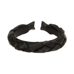 Cerchietto nero in raso , Primadonna, 17B301480RSNEROUNI, 002 preview