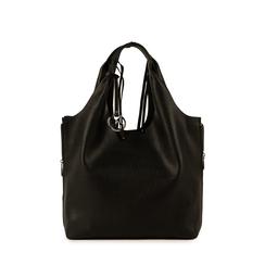 Shopper nera, Borse, 155702557EPNEROUNI, 001a