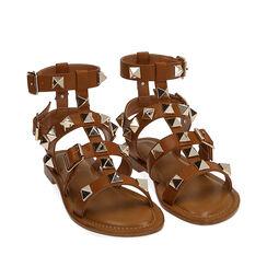 Sandales cage cuir, Primadonna, 174981022EPCOGN036, 002a