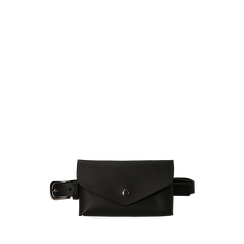 Marsupio nero in eco-pelle, Primadonna, 144010316EPNEROUNI, 001a