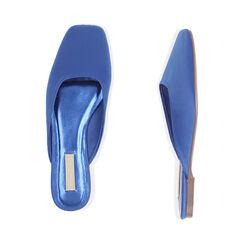 Sabot blu in raso, Primadonna, 174980111RSBLUE035, 003 preview