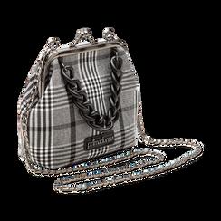 Pochette vintage in tweed, Saldi Borse, 122701280TSBINEUNI, 003 preview