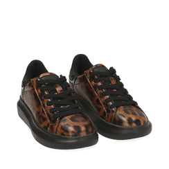 Sneakers leopard , Primadonna, 162602011EPLEMA035, 002a