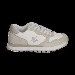 Sneakers en microfibra color blanco, Zapatos, 150620011MFBIAN036, 001 preview