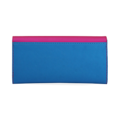 Monedero en eco-piel color fucsia, Bolsos, 153731369EPFUCSUNI, 004 preview