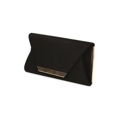Petit sac en microfibre noir, IDEE REGALO, 165123002MFNEROUNI, 002 preview