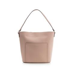 Borsa a secchiello rosa in eco-pelle, Borse, 133783136EPROSAUNI, 001 preview