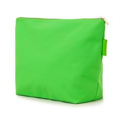 Pochette mare fluo verde in tessuto , Saldi Estivi, 133322281TSVERDUNI, 004 preview