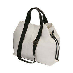 Maxi-bag bianca, Primadonna, 172392506EPBIANUNI, 002a