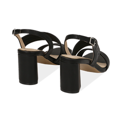 WOMEN SHOES SANDAL ECO-LEATHER NERO, PROMOTIONS, 152117607EPNERO036, 004 preview