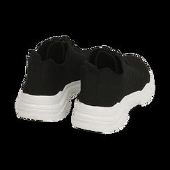 Sneakers nere in tessuto , Primadonna, 159701163TSNERO036, 004 preview