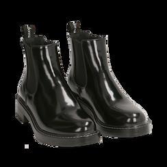 Chelsea boots neri abrasivati , Primadonna, 160685073ABNERO037, 002a
