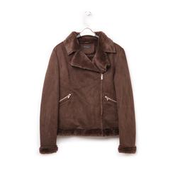 Giacca marrone in microfibra, Abbigliamento, 146500413MFMARR3XL, 003 preview