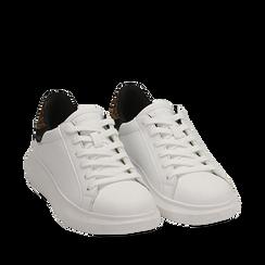Zapatillas color blanco/leopardo, Primadonna, 162602011EPBILE037, 002a