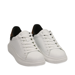 Sneakers bianco/leopard , Primadonna, 162602011EPBILE037, 002a