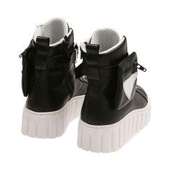 Sneakers nere in pelle, Primadonna, 17L645608PENERO035, 004 preview