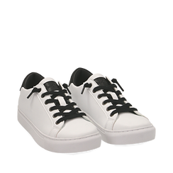 Zapatillas color blanco, Primadonna, 162600308EPBIAN035, 002a