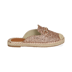 Slippers oro rosa glitter, Chaussures, 154951159GLRAOR036, 001 preview