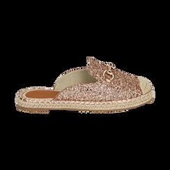 Slippers oro rosa glitter, Primadonna, 154951159GLRAOR036, 001 preview