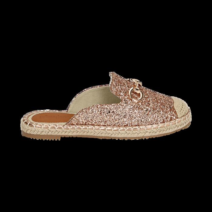 Slippers oro rosa glitter, Chaussures, 154951159GLRAOR036