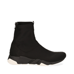 Sneakers a calza nere, Scarpe, 145019096LYNERO036, 001a