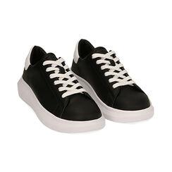 Sneakers nero/bianco , Scarpe, 172602009EPNEBI035, 002 preview