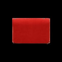 Borsa piccola rossa in microfibra , IDEE REGALO, 165122947MFROSSUNI, 003 preview
