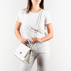 Petit sac blanc en simili-cuir, Sacs, 155700372EPBIANUNI, 002a
