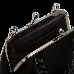 Pochette vintage in nero, Saldi Borse, 122701280MFNEROUNI, 004 preview