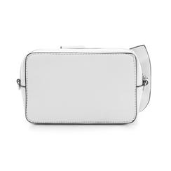 Camera bag bianca in eco-pelle con fiocco, Borse, 132300505EPBIANUNI, 003 preview