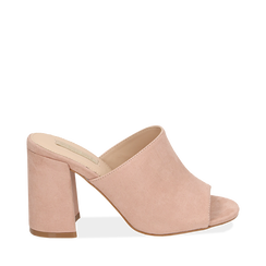 WOMEN SHOES SLIPPER MICROFIBER NUDE, Zapatos, 154998161MFNUDE036, 001a