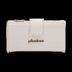 Portafogli bianco, Borse, 155122158EPBIANUNI, 001 preview
