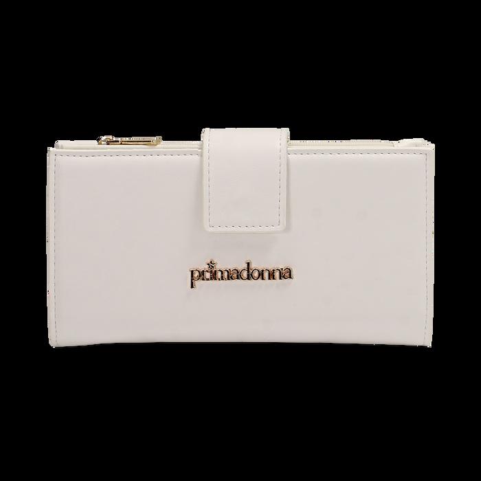 Portafogli bianco, Borse, 155122158EPBIANUNI