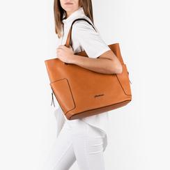 Maxi-sac couleur cuir, SACS, 153708276EPCUOIUNI, 002 preview