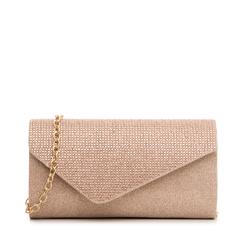 Borsa rosa glitter con strass, Borse, 133308821GLROSAUNI, 001a