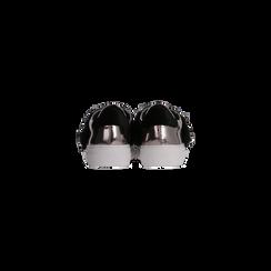 Sneakers canna di fucile Slip-on con dettagli faux-fur e borchie, Scarpe, 126103025SPCANN, 003 preview