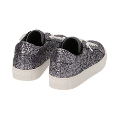 Sneakers argento glitter, Primadonna, 162600308GLARGE038, 004 preview