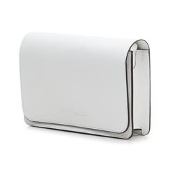Pochette bianca in eco-pelle, Borse, 133764037EPBIANUNI, 004 preview